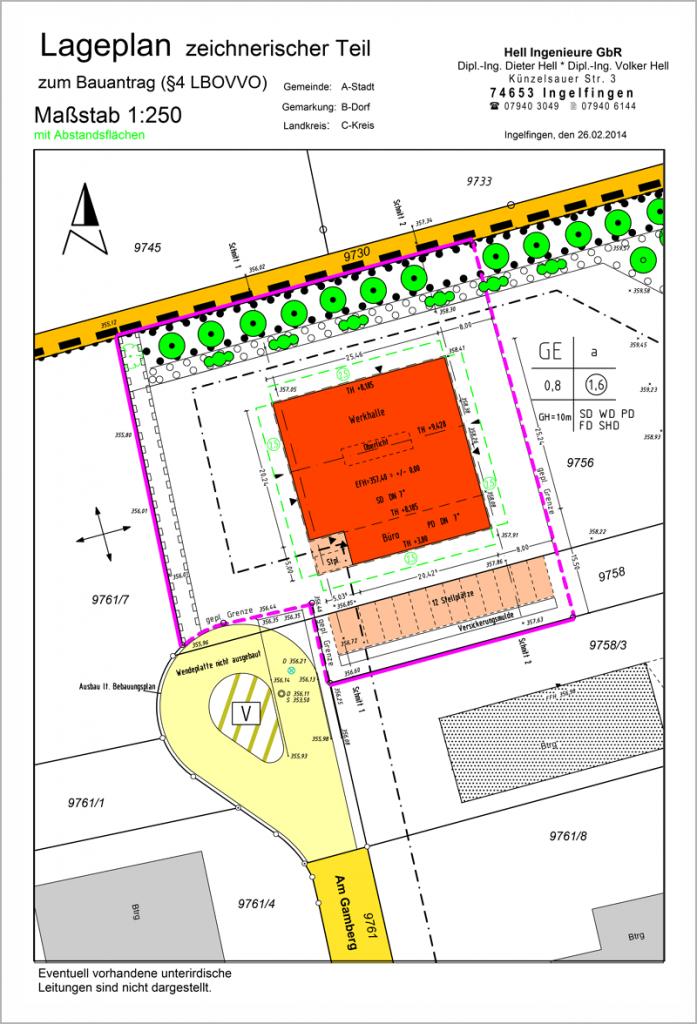 Architekten - Bestandsdaten für Planungen und Hilfe bei der Umsetzung der Bauvorhaben