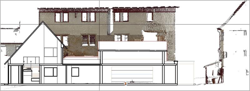 Einpassung von Planungen in die Umgebung darstellen, verschiedene Analysen wie Schattenwürfe und Überschwemmungen simulieren. Maßstäbliche Visualisierung.
