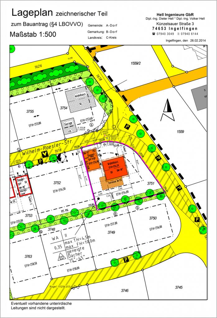 Entwurfs- und Bauvermessung im Hochbau